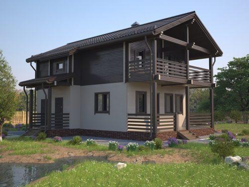 Дома из бруса