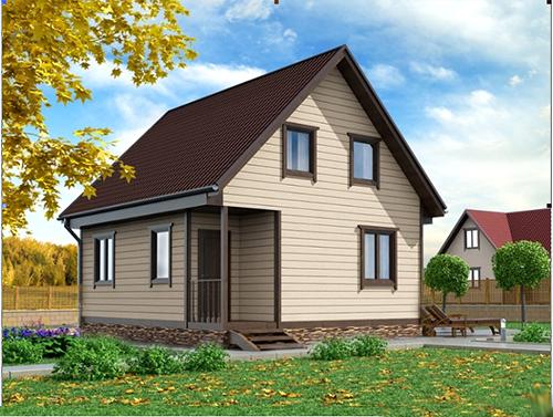 строим по всей Беларуси дома из бруса
