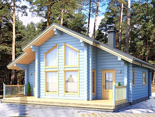 дом из бруса в любой точке беларуси
