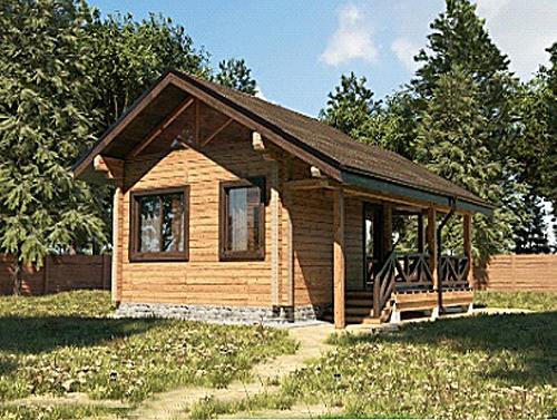дом из бруса в Беларуси