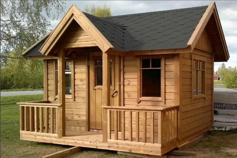 летние садовые домики для дачи
