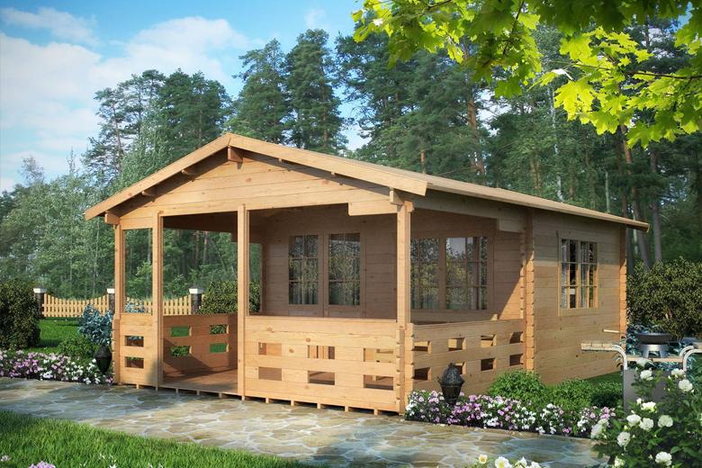садовый домик на дачу