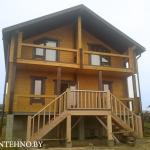 Дома из бруса строим в Беларуси