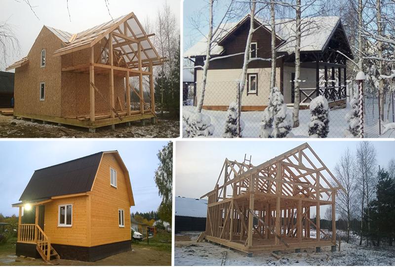 ЛесЛенТехно, заказать строительство каркасно щитового дома