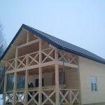 дом каркасный построить
